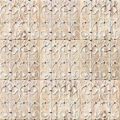 Carrelage bois Colonial Art Grille 20x20