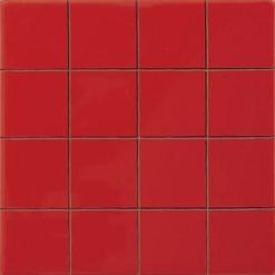 Carrelage Prédécoupé 5x5 Rouge Feu