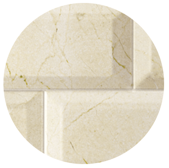 Carrelage métro marbre beige 10x20
