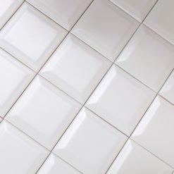 Carrelage Métro blanc 10x10