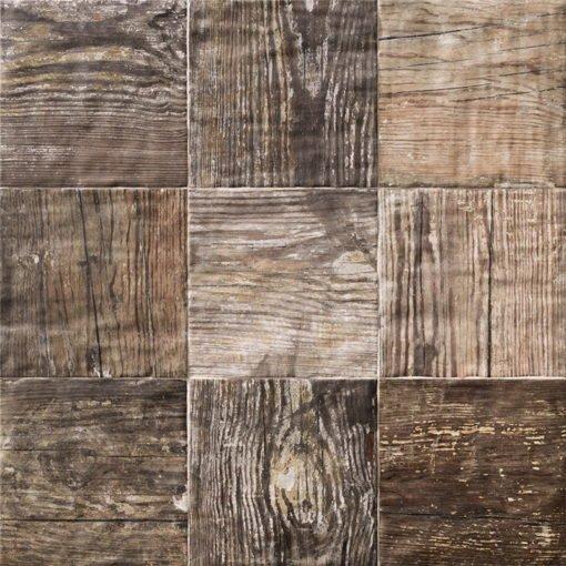 Carrelage sol bois Colonial Caoba 20x20