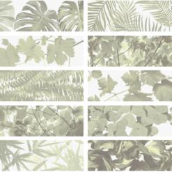 Carrelage Tropical mix decoré 10x30