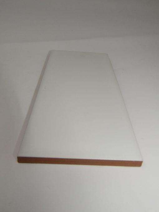 Carrelage métro 10x20 Blanc mat