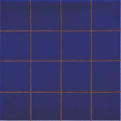 Carrelage Prédécoupé 5x5 Bleu Cobalt