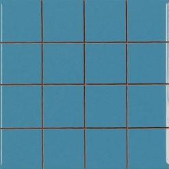 Carrelage Prédécoupé 5x5 Aqua Blue (Emeraude)