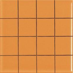 Carrelage Prédécoupé 5x5 Orange