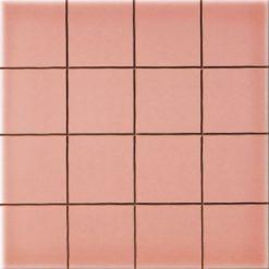 Carrelage Prédécoupé 5x5 Rose Saumon