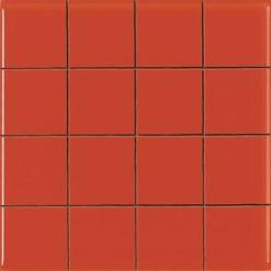 Carrelage Prédécoupé 5x5 Rouge